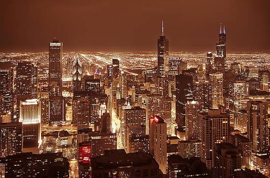 Chicago skyscrapers by Lidia Sharapova