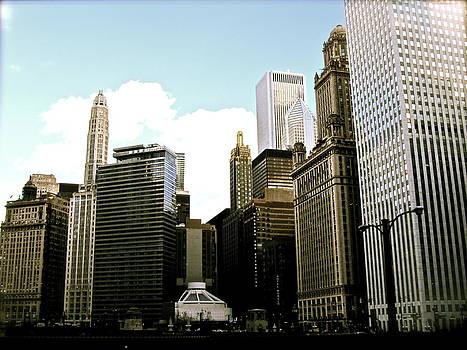 Chicago Skyscrapers by Stephanie Olsavsky