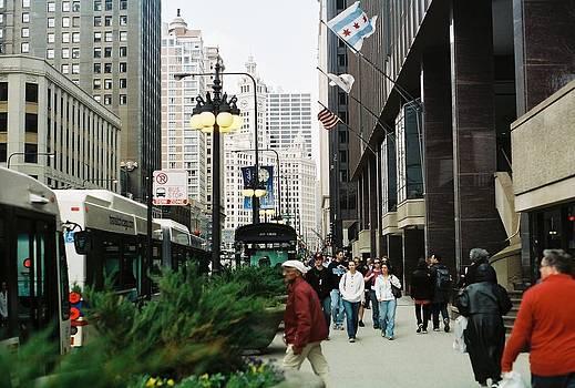 Chicago The Walk by Christopher Karczewski