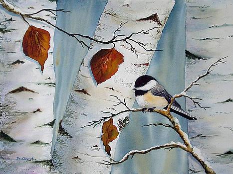 Dee Carpenter - Chickadee in the Birch