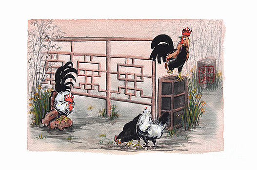 Chickens at the Gate by Nancy Pahl