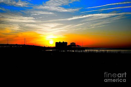 Chicks Beach Sunset by Eric Grissom