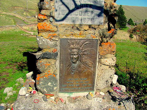Chief Joseph Memorial by Amy Bradley