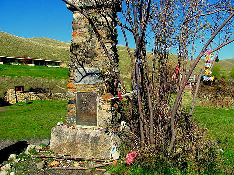 Chief Joseph's Grave Site by Amy Bradley