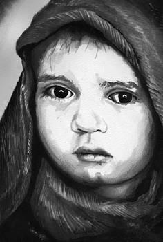 Paul Mitchell - Child Ink Portrait