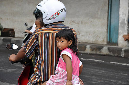 Child Of Bali by Kamel Rekouane