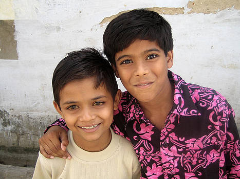 children of India by Kamel Rekouane