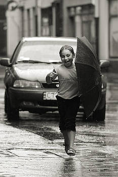 Waldek Dabrowski - Children of old Thorn XXXIII -  Fun in the rain