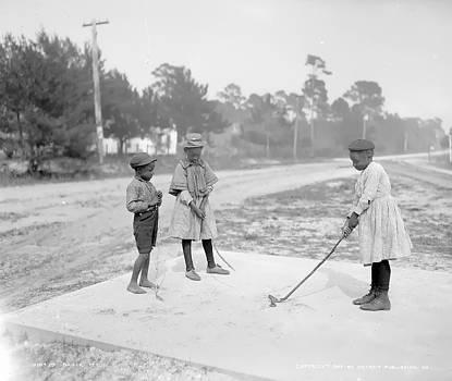 Steve K - Children playing Golf
