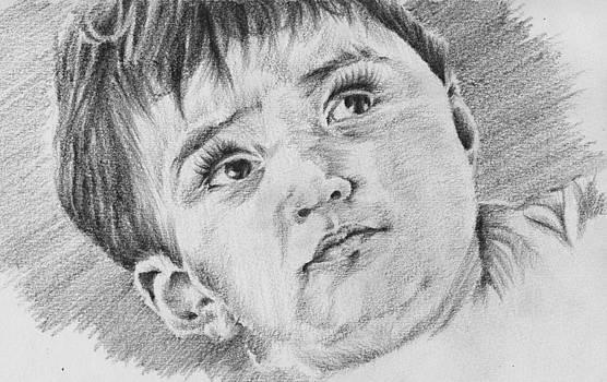 Children Portrait 1 by Shorf  Afza