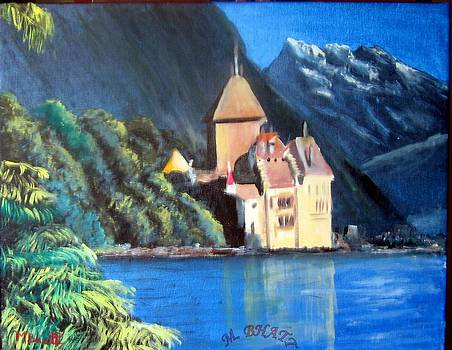Chillon Castle by M Bhatt
