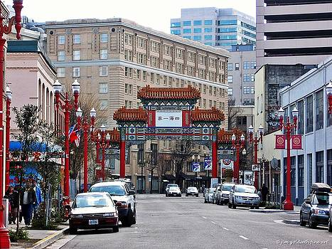 Chinatown Portland by Jim Goldseth