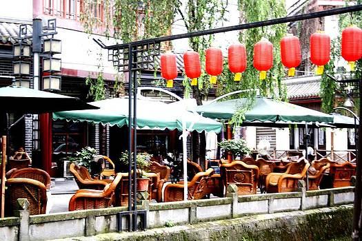 Gai Sin Liem - Chinese cafe in ChengDu