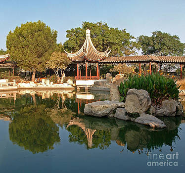 Chinese Garden in Malta by Mary Attard