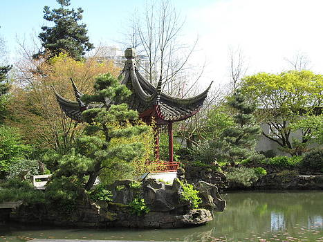 Alfred Ng - chinese garden in Vancouver