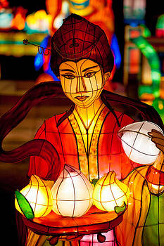 Chinese Lanterns 7128 by Ken Brodeur