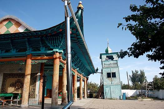 Chinese mosque by Frederic Vigne