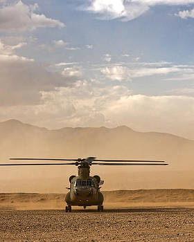 Chinook 1 by Michael Carrigan