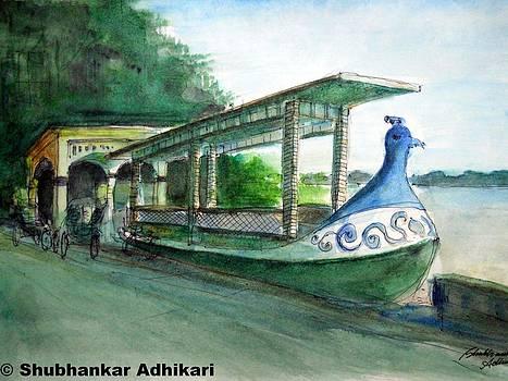 Chinsurah Mayurpankhi Ghat  by Shubhankar Adhikari