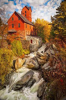 Chittenden Mill Vermont 5895  by Ken Brodeur