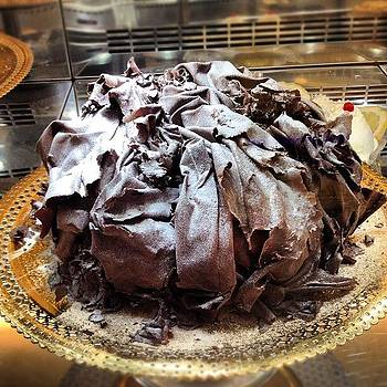 Chocolate Cake-Sorrento by Susan Smela
