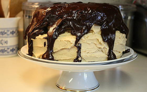 Anne Babineau - chocolate peanut butter cake