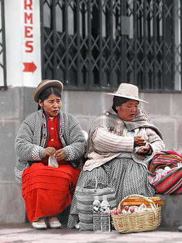 Cholitas by Karin De oliveira