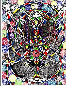 Christ -n- Abstract by Lenell Gent