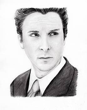Christian Bale by Rosalinda Markle