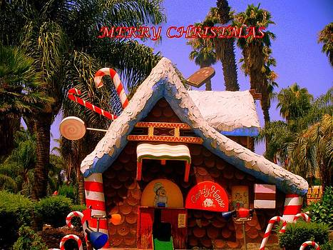 Christmas Candy House by Kevin Moore