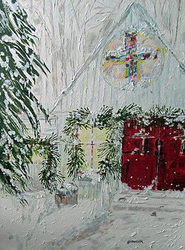 Christmas Church by Barbara Pearston