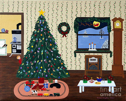 Christmas Eve by Susan Houghton Debus