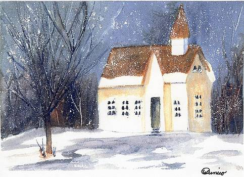 Christmas Eve by Wendy Cunico