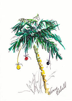 Christmas in Florida Tree by Michele Hollister - for Nancy Asbell