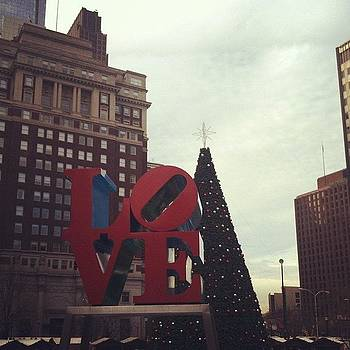 Christmas in LOVE Park by Colleen Sullivan