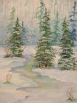 Christmas in the Pines by Barbara Sudik