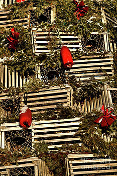 Brenda Giasson - Christmas Lobster Crates