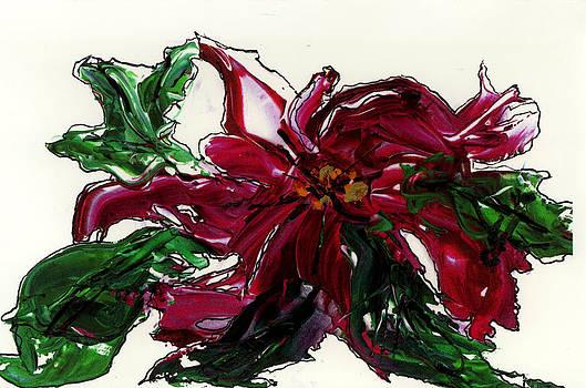 Tonya Schultz - Christmas Poinsettia
