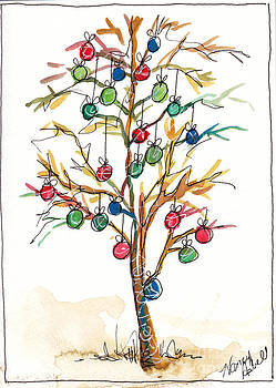 Christmas Spirit Christmas Tree by Michele Hollister - for Nancy Asbell