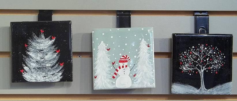 Christmas Tiles by Joyce Kerr