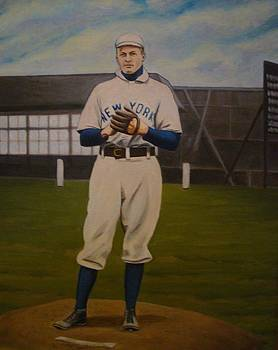 Christy Mathewson by Mark Haley