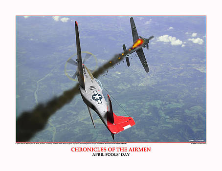 Chronicles Of The Airmen April Fools Day by Jerry Taliaferro
