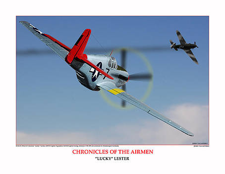 Chronicles Of The Airmen Lucky Lester by Jerry Taliaferro