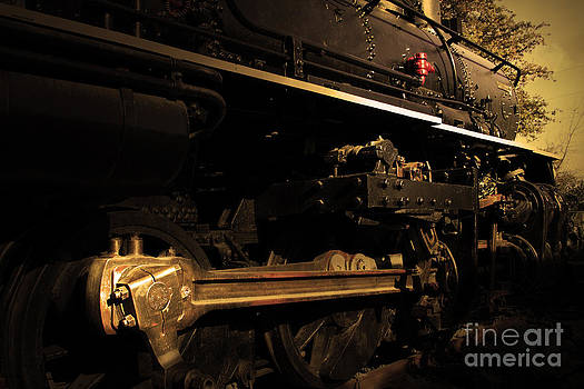 Wingsdomain Art and Photography - Chugging Across America in The Age of Steam . Golden Cut . 7D12991