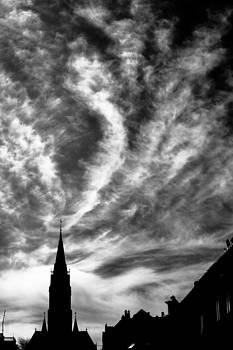 Hakon Soreide - Church and Clouds