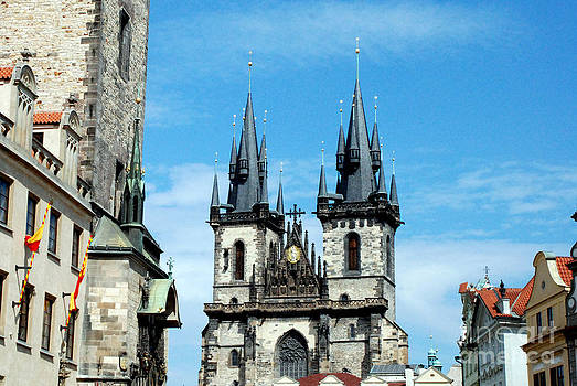 Pravine Chester - Church in Prague