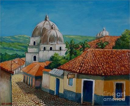 Church of Pespire in Honduras by Jean Pierre Bergoeing