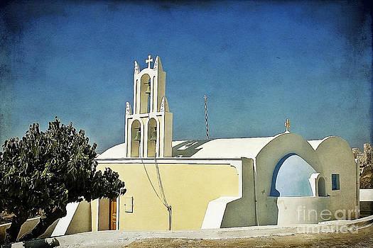 Teresa Zieba - Church on Santorini