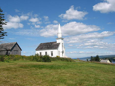 Church on the Hill by Jesslyn Fraser