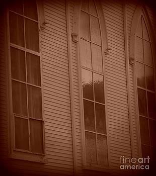 Church Windows by Christy Beal